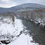 Rzeka Wołosatka w Pszczelinach