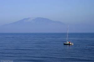 Ainos - widok z Morza Jońskiego