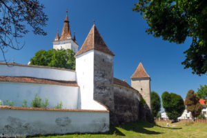 Zamek chłopski w Hărman