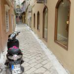Kerkira - uliczki na starówce