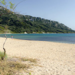 Plaża w Afionas