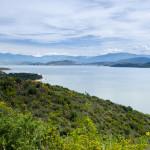 Widok w kierunku Albanii