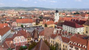Rynek w Sibiu